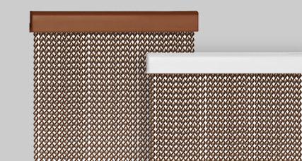 Cortina de pl stico modelo ibiza para puerta de entrada - Cortinas exteriores para puertas ...