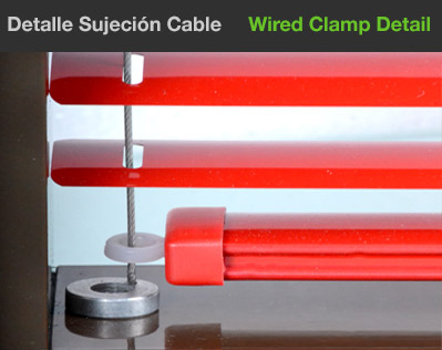 Wired clamp Detail