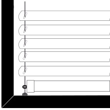 Cortinadecor 16 Mm Aluminium Venetian Blinds Guided-steel-wire