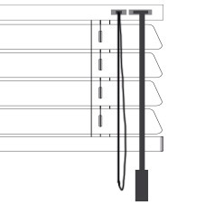 Cortinadecor 16 Mm Aluminium Venetian Blinds Manual-cordon