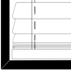 Cortinadecor 16 Mm Aluminium Venetian Blinds Without-guides