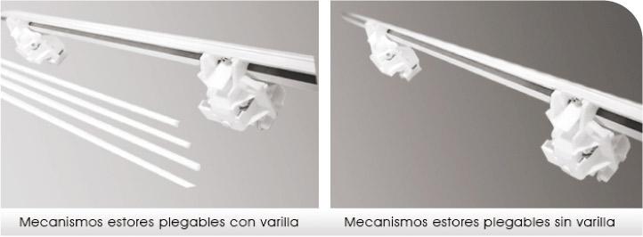 Rieles y mecanismos para estores enrollables o estores - Soportes para estores ...