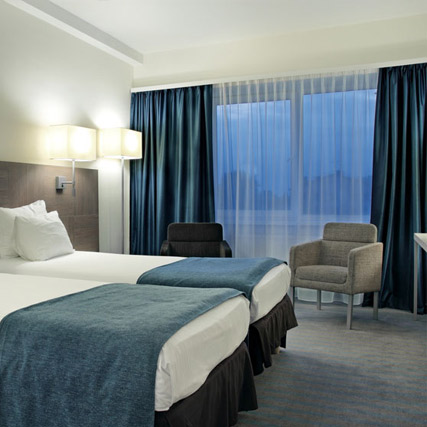 Dimout fabric Arce for hotels