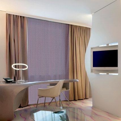 ambiente visillos azur ignfugos especial hoteles