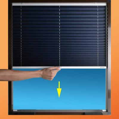Cortinas plisadas basic for Bases para colgar cortinas