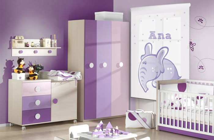 Novedades en cortinas y estores cortinadecor - Estores para habitacion de bebe ...