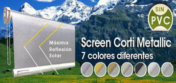 Screen Corti Metallic
