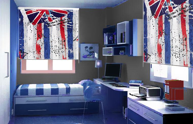 Novedades en cortinas y estores cortinadecor - Cortinas juveniles para dormitorios ...