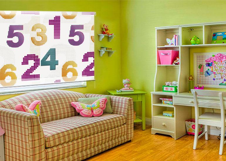 Fotografias de estores enrollables en habitaciones - Estores para habitaciones juveniles ...