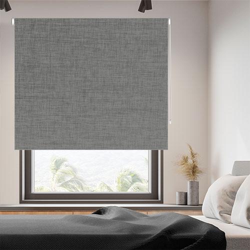 Estores enrollables lino textur opac corti fabricados a medida - Estores de lino ...