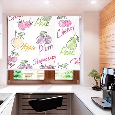 Happy fruits - Soportes para estores ...