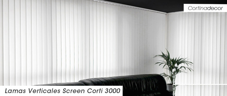 cortinas verticales en