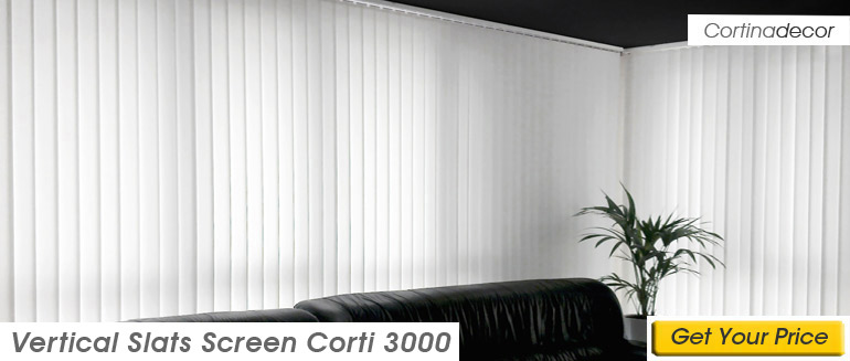 Screen Corti 3000 Vertical Slats