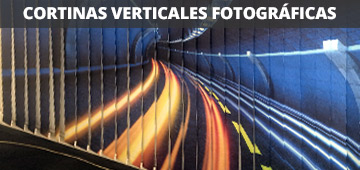 Photographic Vertical Slats