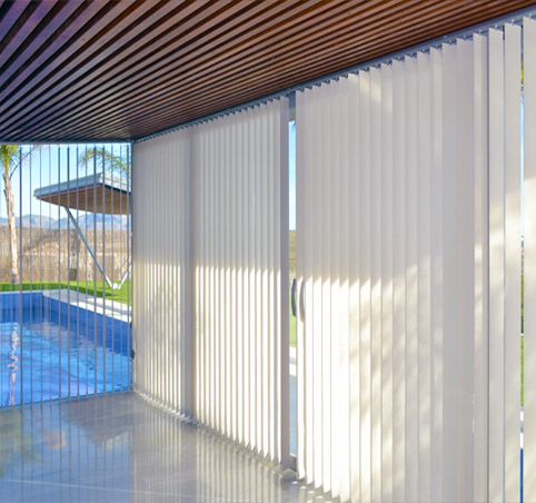 Cortinas lamas verticales screen