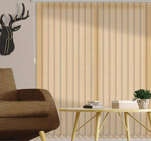 translucent curtains vertical slats