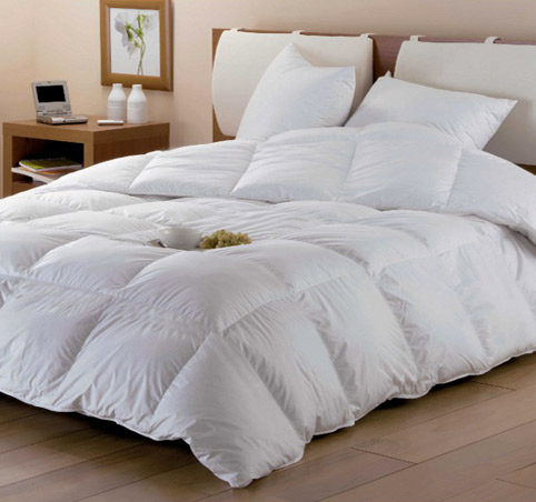 Natural down duvets