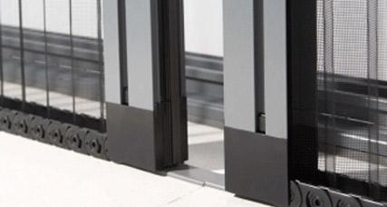 Mosquiteras de aluminio plisadas a medida for Mosquiteras plisadas para puertas