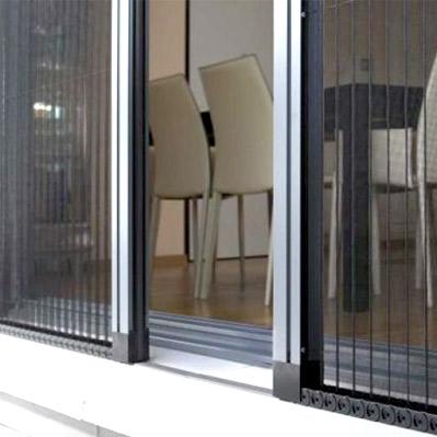 mosquiteras plisadas On mosquiteras enrollables para puertas