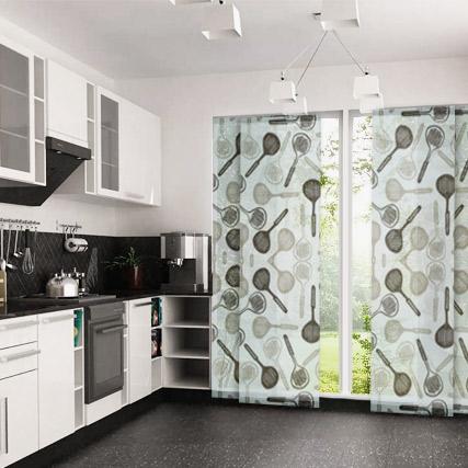 Dolce cocina paneles japoneses cortinadecor - Paneles para cocina ...