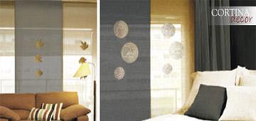 Paneles japoneses fabricados a medida cortinadecor - Paneles chinos cortinas ...