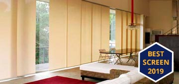 Fiberglass screen Japanese panels