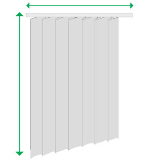 como medir cortinas de Cortinadecor