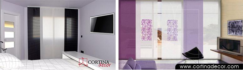 Paneles japoneses cluny lino cortinadecor - Paneles japoneses baratos online ...