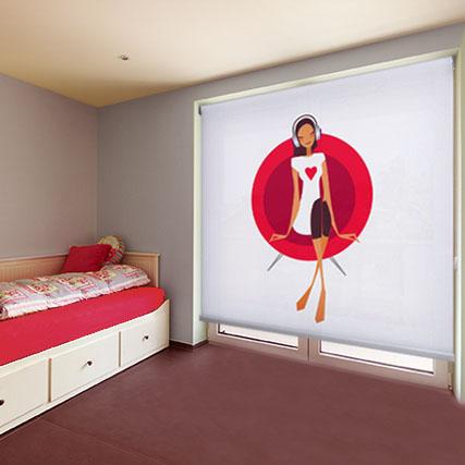 Estores juveniles a tu medida elige uno de la nueva - Estores habitacion juvenil ...