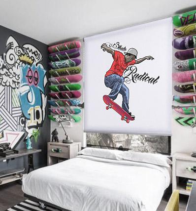 Estores juveniles urban cortinadecor - Estores con dibujos ...