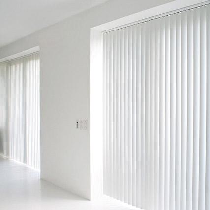 Cortinas verticales nano screen opac for Cortinas opacas blancas