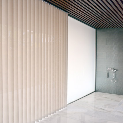 Cortinas de lamas verticales screen corti 3000 a tu medida for Cortinas verticales precio