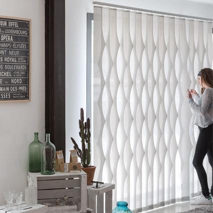 Retro cortinas verticales cortinadecor - Telas para cortinas el corte ingles ...
