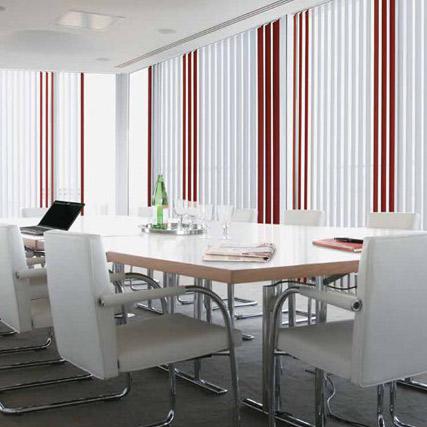 Cortinas de lamas verticales resinado corti hechas a tu for Cortinas verticales precio