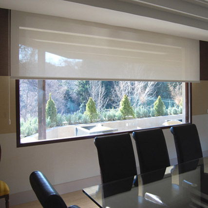 Estor enrollable cortinadecor con tejido polyscreen 350 - Fotos estores enrollables ...
