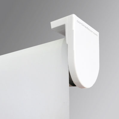 Estor enrollable cortinadecor con tejido polyscreen 350 - Soporte para estores ...