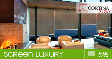 Luxury Screen Roller Blinds