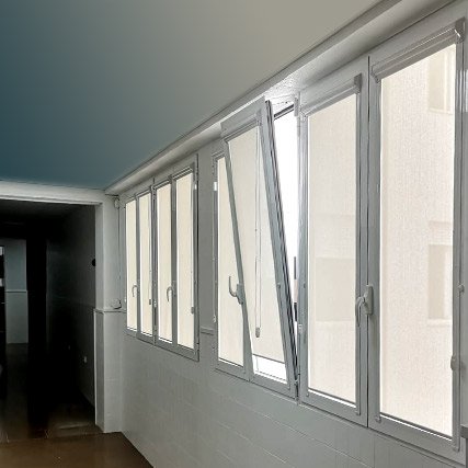 Translucent Corti Glass Roller Blinds