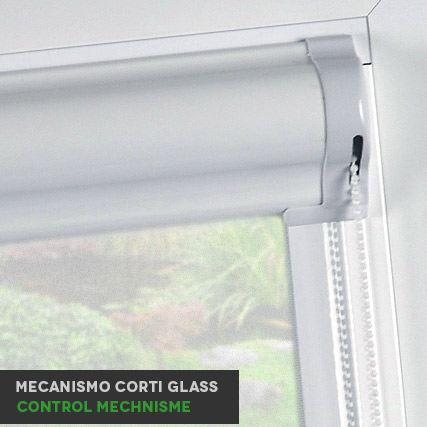 Screen Corti Glass Roller Blinds