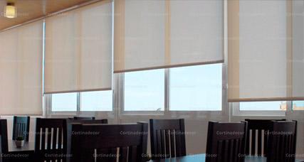 Estores enrollables screen corti 4000 de cortinadecor en - Modelos de estores para salon ...
