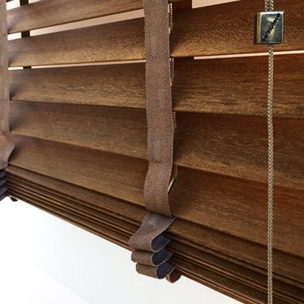 De natural cortinadecor venecianas madera cortinadecor - Cortinas venecianas de madera ...