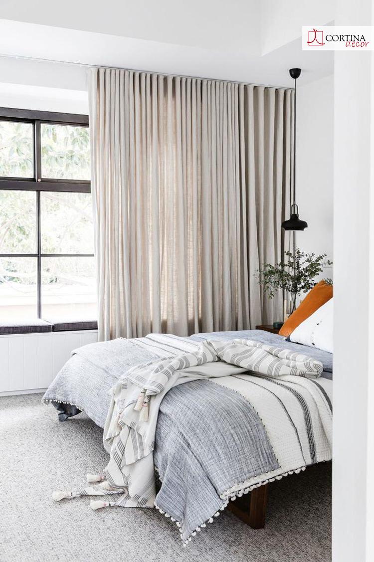 Cortinas lino corti for Tendencias en cortinas