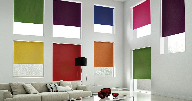 Estores enrollables Opac Colors