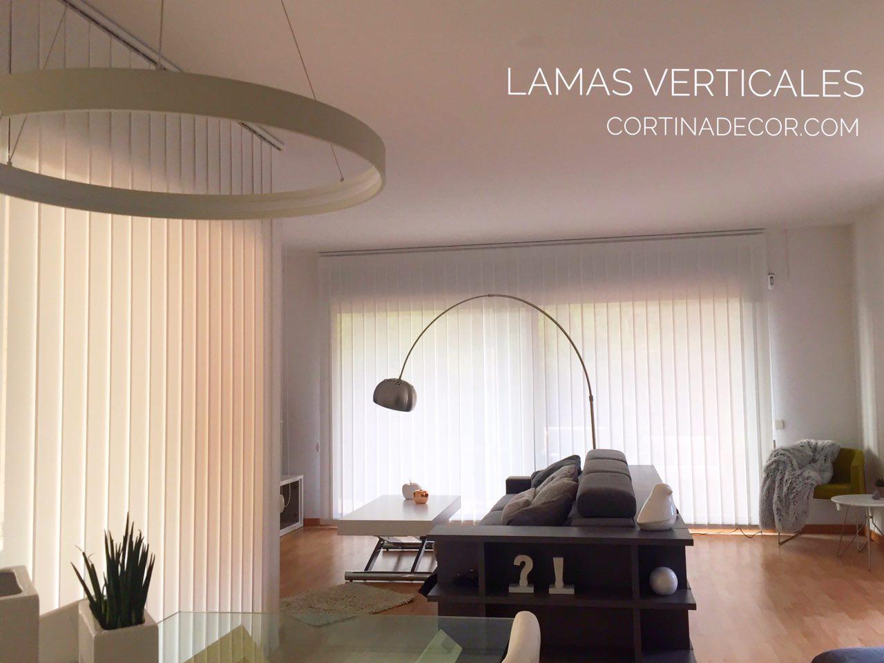Tendencias en cortinas verticales de Cortinadecor