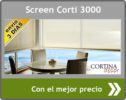 Estores enrollables de Screen