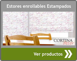 Estores enrollables impresos