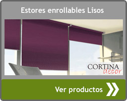 Estores enrollables lisos