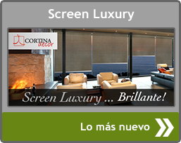 Estores screen luxury de Cortinadecor