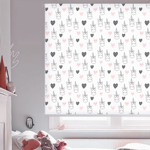 Patterned Children's Roller Blinds