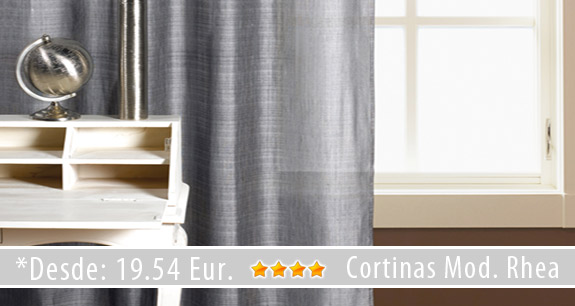 Novedades en cortinas y estores cortinadecor for Cortinas gris plata